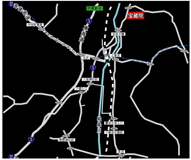 宝蔵院会館アクセス地図